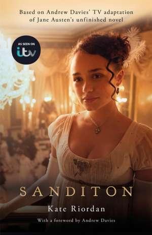 AT SANDITION OFFICIAL ITV TIE IN EDITION de KATE RIORDAN