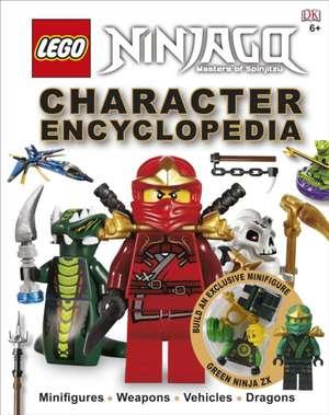 LEGO® Ninjago Character Encyclopedia: Includes Green Ninja FX minifigure de DK