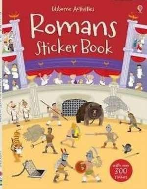 Romans Sticker Book imagine