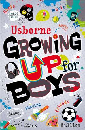 Growing up for Boys de Alex Frith