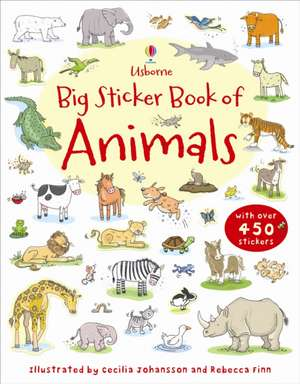 My First Big Sticker Book of Animals