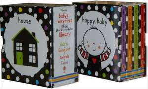Baby's Very First Black and White Little Library Box Set de Stella Baggott