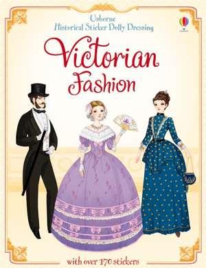 Historical Sticker Dolly Dressing Victorian Fashion de Sam Lake
