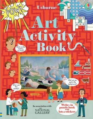 Art Activity Book de Rosie Dickins