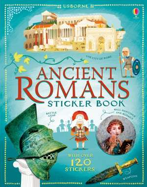Ancient Rome Sticker Book
