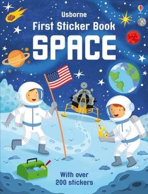 First Sticker Book Space de Sam Smith