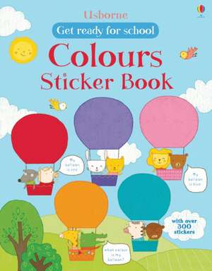 First Colours Sticker Book