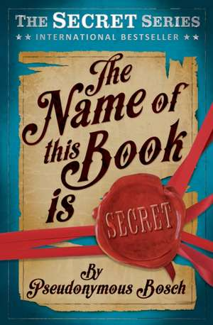 The Name of This Book is Secret imagine