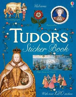 Tudors Sticker Book de Emily Bone