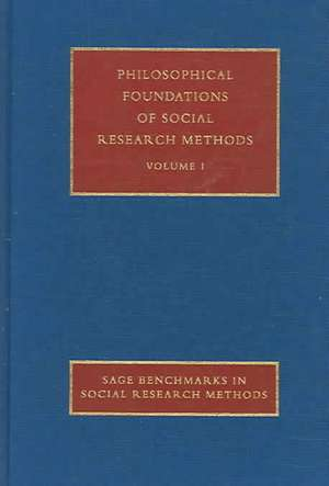 Philosophical Foundations of Social Research Methods de Malcolm Williams