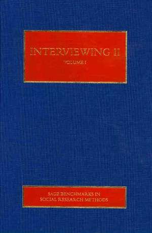 Interviewing II de Nigel G. Fielding