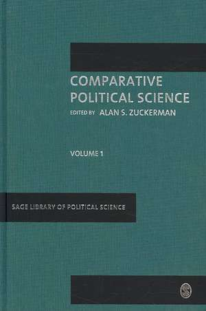Comparative Political Science de Alan S. Zuckerman
