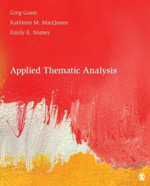 Applied Thematic Analysis imagine