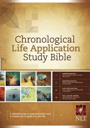 Chronological Life Application Study Bible-NLT de Tyndale