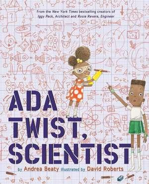 ADA Twist, Scientist:  The Jolly Regina de Andrea Beaty