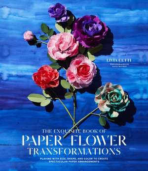 Imagine The Exquisite Book Of Paper Flower Transformations