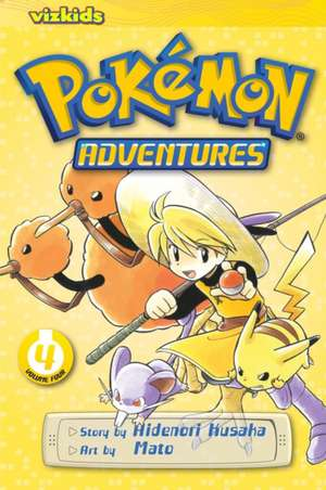 Pokémon Adventures (Red and Blue), Vol. 4 de Hidenori Kusaka