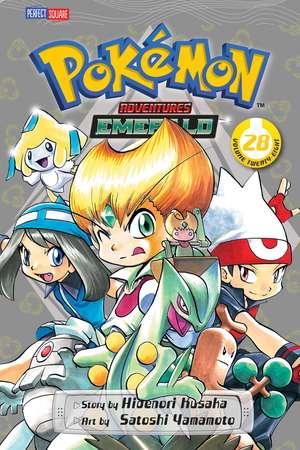 Pokémon Adventures (FireRed and LeafGreen), Vol. 28 de Hidenori Kusaka