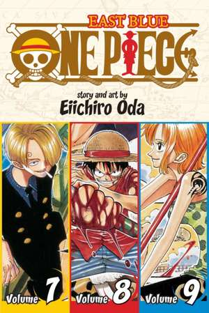 One Piece (Omnibus Edition), Vol. 3 imagine