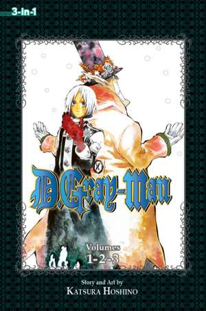 D.Gray-man (3-in-1 Edition), Vol. 1