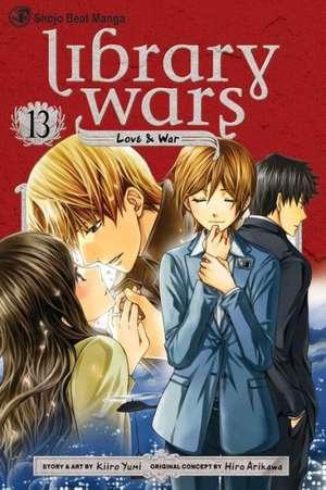 LIBRARY WARS LOVE & WAR GN VOL 13 de Diamond Comic Distributors, Inc.