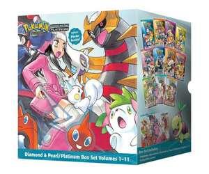 Pokémon Adventures Diamond & Pearl / Platinum Box Set de Hidenori Kusaka