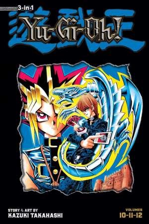 Yu-Gi-Oh! (3-in-1 Edition), Vol. 4: Includes Vols. 10, 11 & 12 de Kazuki Takahashi