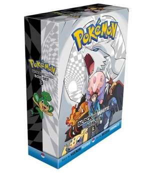 Pokemon Black and White Box Set 3: Includes Volumes 15-20 de Hidenori Kusaka