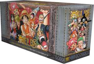 One Piece Box Set 3: Thriller Bark to New World: Volumes 47-70 with Premium de Eiichiro Oda