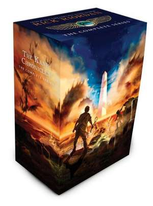 The Kane Chronicles Box Set de Rick Riordan