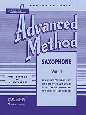 Rubank Advanced Method - Saxophone Vol. 1 imagine