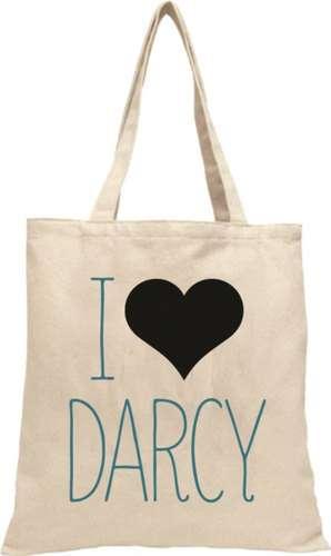 Darcy Heart Ecobag