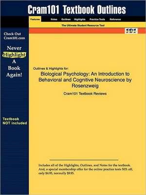 Studyguide for Biological Psychology de Rosenzweig Breedlove & Watson