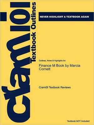 Studyguide for Finance M Book by Cornett, Marcia, ISBN 9780073382241 de 5th Edition Cox
