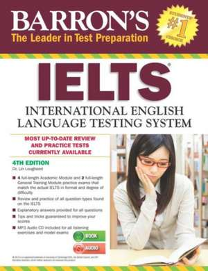 Barron's IELTS [With MP3 CD]