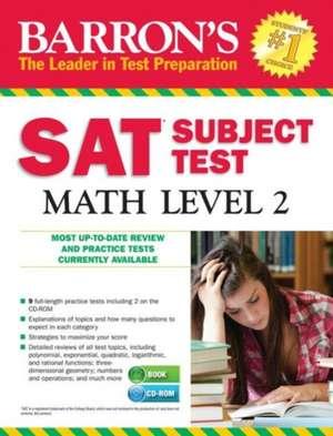 Barron's SAT Subject Test de Richard Ku