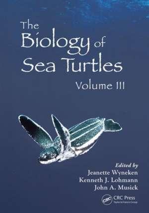 The Biology of Sea Turtles, Volume 3 imagine