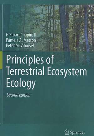 Principles of Terrestrial Ecosystem Ecology imagine