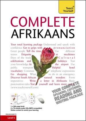 Complete Afrikaans Book/CD Pack: Teach Yourself de Lydia McDermott