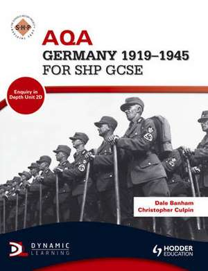 AQA Germany 1918-1945 for SHP GCSE