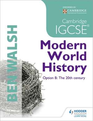 Cambridge IGCSE History Student's Book