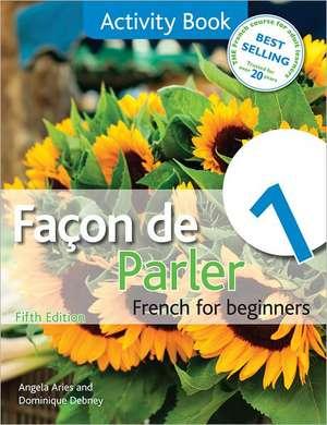 Facon de Parler 1 Activity Book 5th Edition