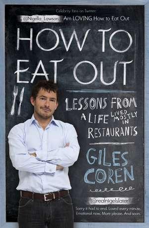 How to Eat Out de Giles Coren