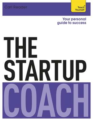 The Startup Coach: Teach Yourself