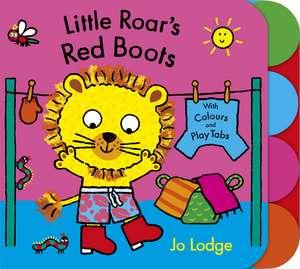 Little Roar's Red Boots