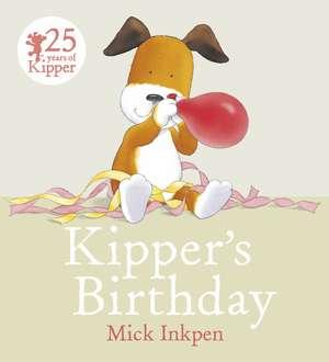 Kipper: Kipper's Birthday de Mick Inkpen