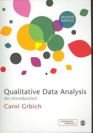 Qualitative Data Analysis: An Introduction de Carol Grbich