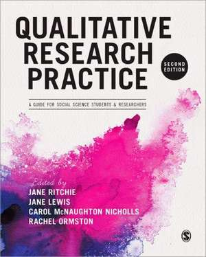 Qualitative Research Practice: A Guide for Social Science Students and Researchers de Jane Ritchie