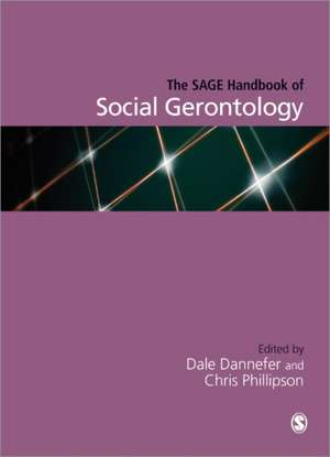 The SAGE Handbook of Social Gerontology