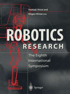 Robotics Research: The Eighth International Symposium de Yoshiaki Shirai
